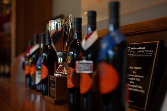 Muse Vineyards Awards