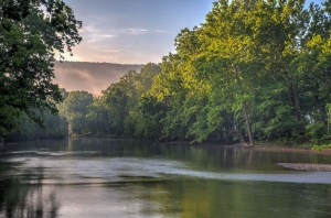 Shenandoah River Fork at Muse VIneyards