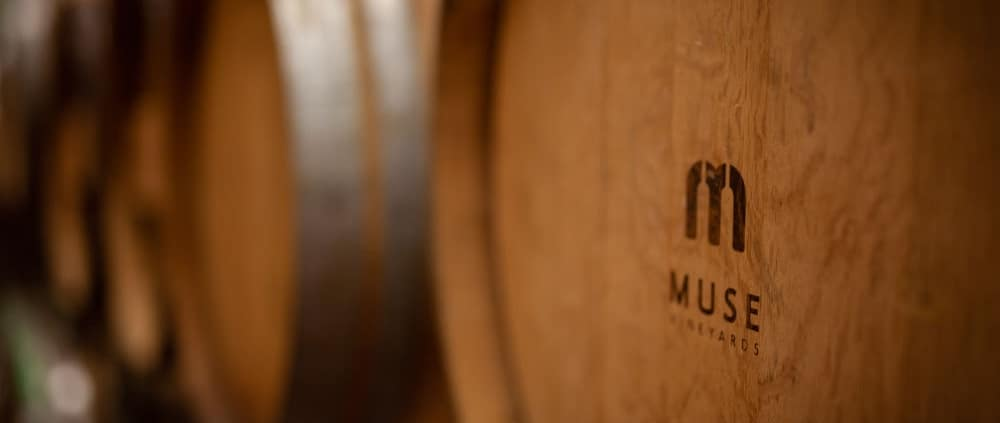 Muse Vineyards Barrels