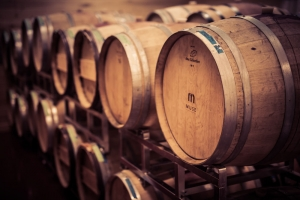 Muse Vineyards Wine Barrels