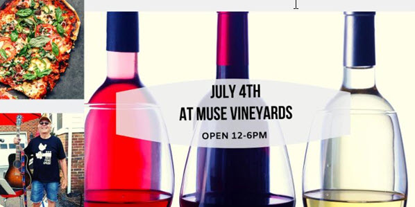 July 4th at Muse Vineyards!