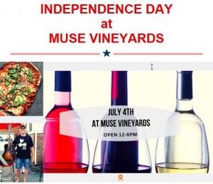 July 4th at Muse Vineyards!