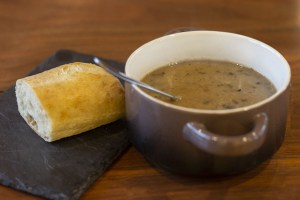 Mushroom Soup - Muse Vineyards Food Menu
