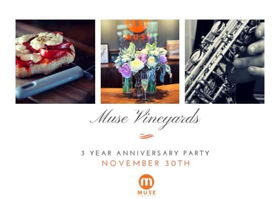 Muse 3-Year Anniversary