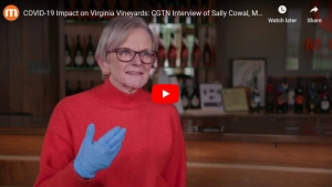 Sally Cowal - Muse Vineyards - CGTN America Interview