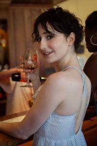 Enjoying Wine at Muse Vineyards