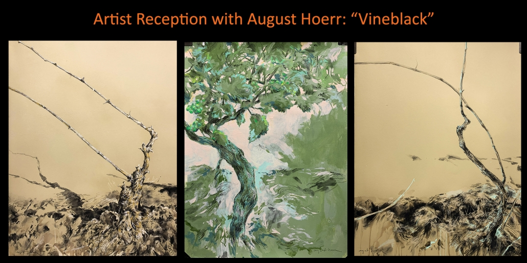 Artist Reception with August Hoerr