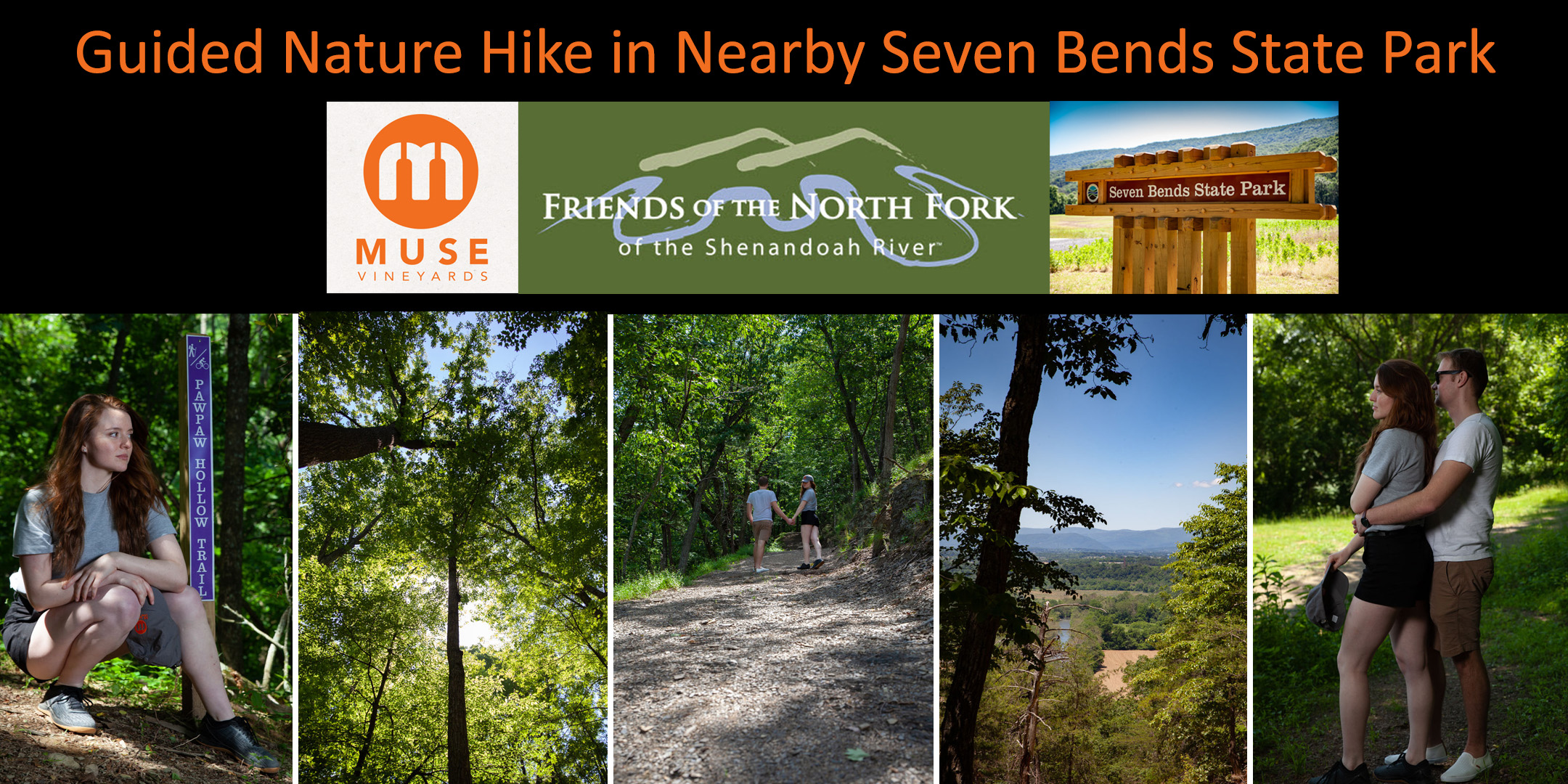 Guided Hike - Seven Bends State Park