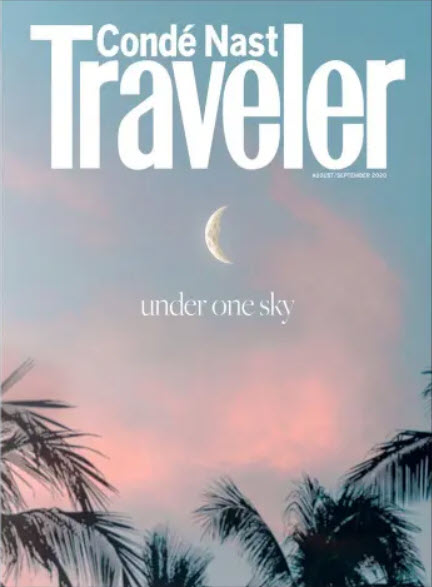 Conde Nast Magazine - August/September 2020