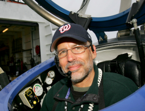 David Guggenheim in DeepWorker Submersible, Bering Sea, Alaska